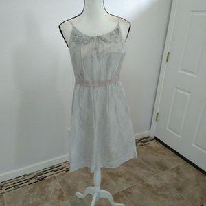 New Ann Taylor LOFT grey dress size 8